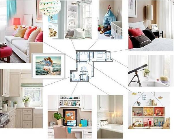 Как создать дизайн интерьера дома самому