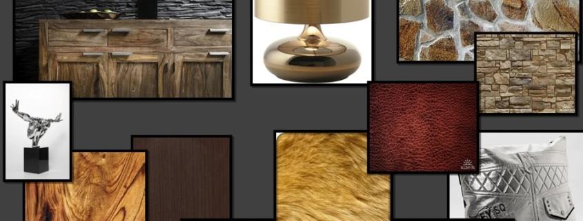 материалы с родным цветом