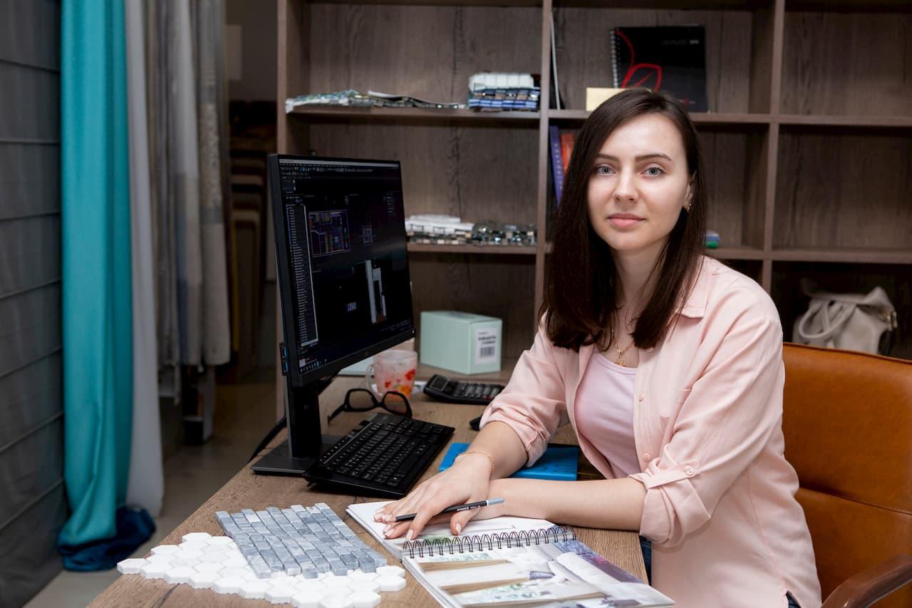 Валерия Бурлаева -выпускница Школы дизайна